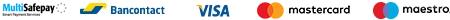 Paiement sécurisé : Visa, mastercard,Paypal, Virement bancaire
